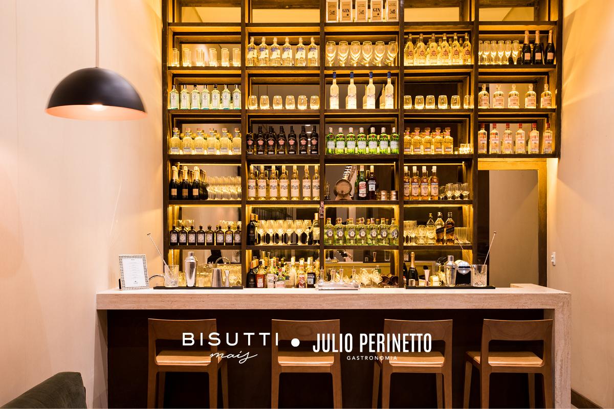 Bar para degustação dos drinks do Eleven Bar do Chef