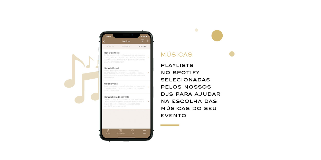 Playlists no Spotfy