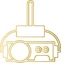 Sistema de Projeção Multi-telas 5038 X 586PX